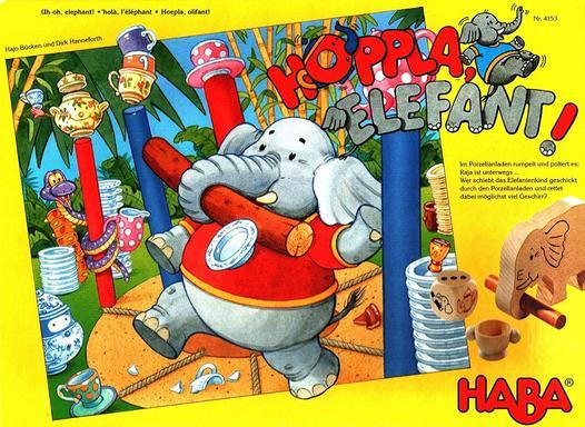 106 - Hopplà Elephant Image