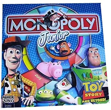 1694 - Monopoly junior Toy Story Image