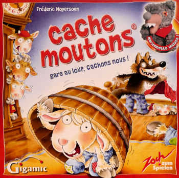 1682 - Cache moutons Image