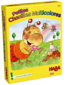 2141 - Petites chenilles multicolores Image